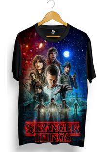Camiseta Bsc Stranger Things Full Print - Masculino