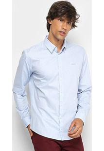 Camisa Colcci Slim Manga Longa Masculina - Masculino