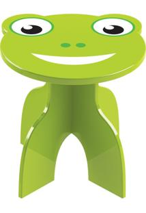 Banquinho Junges Frog Verde