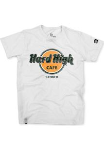 Camiseta Stoned Hard High Cafe Branco