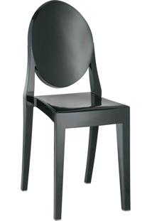 Cadeira Sem Braço Pc Sofia-Rivatti - Preto