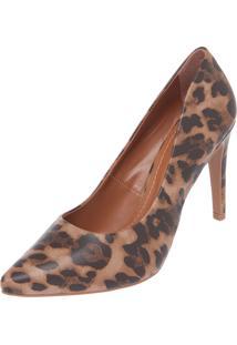 Scarpin Dafiti Shoes Onça