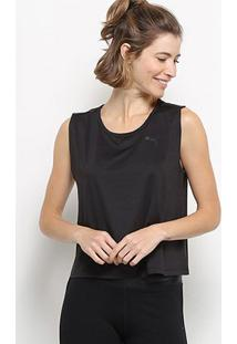 Regata Puma Soft Sports Tank - Unissex-Preto
