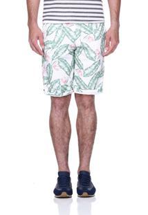 Bermuda King&Joe Floral Verde