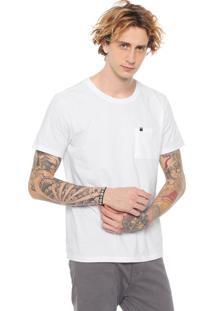 Camiseta John John Pocket Branca