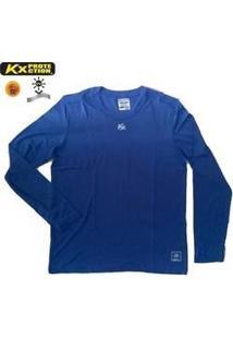 Camisa Manga Longa Kanxa Prot. Uv 50+ Bactericida Poliamida