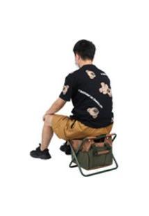 Cadeira Dobrável, Banquinho De Acampamento, 15.7X10.6X13.0In Removível Churrasco Jardim Camping Para Pesca No Pátio Piquenique Doméstico