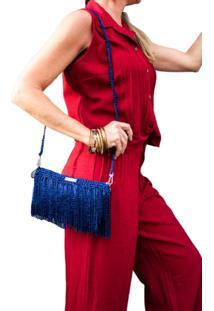Bolsa Daniella Kolb Marilyn Azul - Tricae