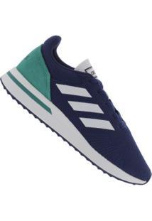 Tênis Adidas Run70S - Masculino - Azul Esc/Verde