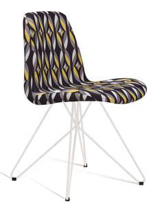 Cadeira Eames Com Base Butterfly Branco Daf