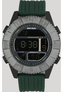 Relógio Digital Mormaii Masculino - Mo5334Ae8C Verde - Único