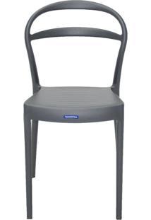 Cadeira Tramontina Sissi 92047/007 Grafite Se