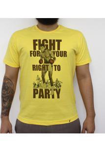 Fight For Your Right - Camiseta Clássica Masculina