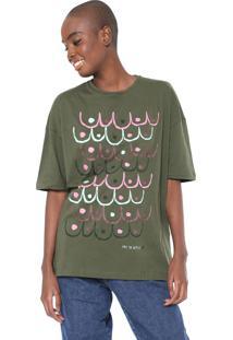 Camiseta Cantão Free The Nipples Verde