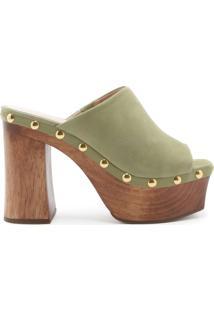 Sandália Clog Bold Green | Schutz