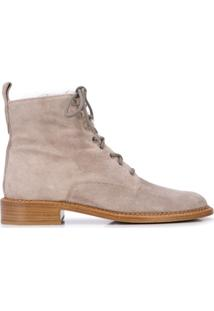 Vince Cabria Suede Ankle Boots - Cinza