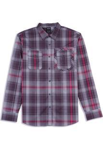 Camisa O-Plaid Ls Woven. Oakley