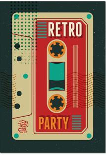 Placa Quadro Bar Retro Vintage 20X29 Mdf 3Mm Chantelle
