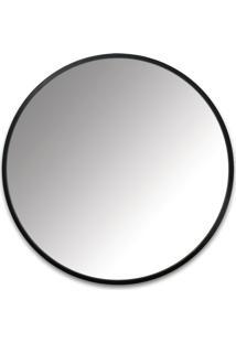 Espelho De Parede Hub Wall Preto