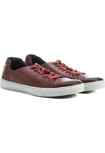 Sapatênis Shoestock Couro Liso - Masculino