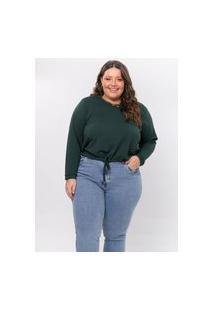 Blusa Plus Size Feminina Kaliska Em Crepe