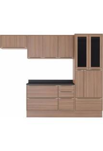 Cozinha Completa 7 Peças 10 Portas Calábria Multimóveis Nogueira