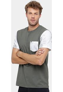 Camiseta Mcd Especial Geo Flower Masculina - Masculino