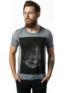 Camiseta Estonada Skull Lab King - Masculino