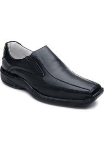 Sapato Confortável Bico Quadrado Ranster - Masculino