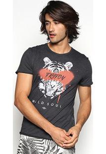 Camiseta Triton Wild Soul Masculina - Masculino