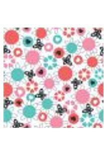 Papel De Parede Autocolante Rolo 0,58 X 3M - Floral 1439