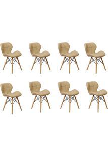 Cadeira E Banco De Jantar Império Brazil Slim Wood Estofada