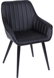 Cadeira Florença- Preta- 84X60X41,5Cm- Or Designor Design
