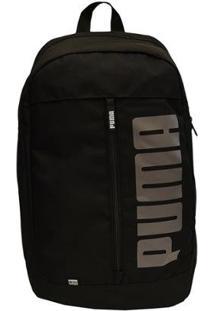 Mochila Puma Notbook Pioneer Backpack 2 Masculina - Masculino-Preto