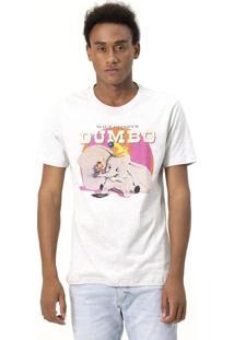 Camiseta Com Estampa Dumbo - Disney