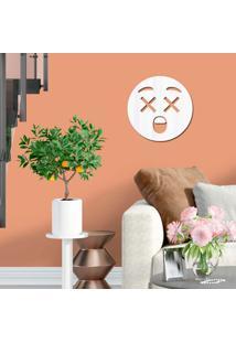 Espelho Decorativo Emoji Assustado