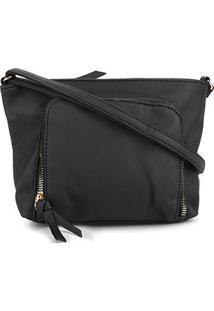Bolsa Pagani Mini Bag Feminina - Feminino-Preto