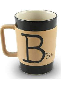 Caneca Coffe To Go- B 300Ml-Mondoceram - Pardo