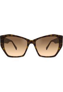 Óculos Solar Bond Street Kensington Feminino - Feminino-Marrom