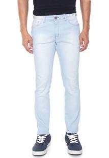Calça Jeans Osmoze Skinny Estonada Azul