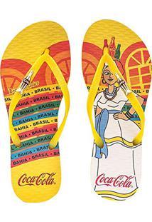 Sandália Feminina Coca-Cola Baiana