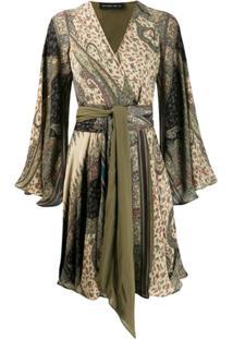 Etro Vestido Kaftan Com Estampa Paisley - Neutro