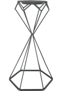 Castiçal Geometric Preto
