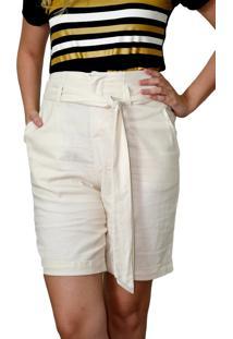 Bermuda Energia Fashion Off-White