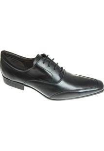 Sapato Social Sândalo Ives Masculino - Masculino-Preto