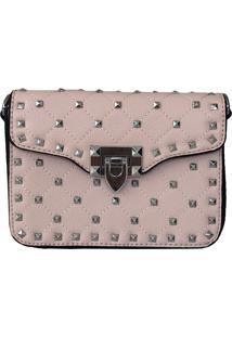 Bolsa Bag Dreams Tacia Com Spikes Rosa - Kanui