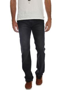 Calça Jeans Black Straight