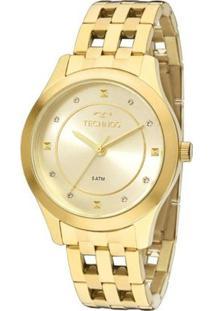 Relógio Feminino Technos Analógico - Unissex-Dourado