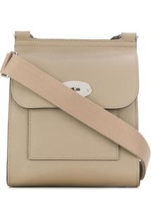 Mulberry Small Antony Classic Grain Shoulder Bag - Cinza