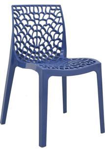 Cadeira Gruvyer -Rivatti - Azul